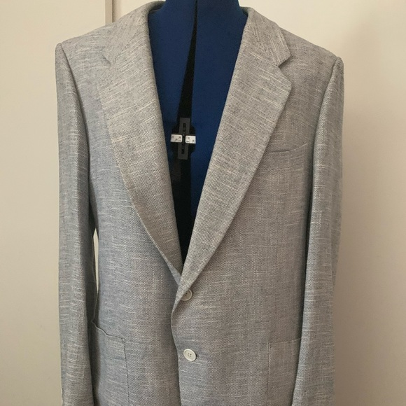 Yves Saint Laurent Other - YSL Vintage  Jacket 40 Gray made in  France 054